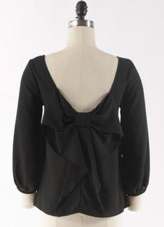 cloth, style, dream closet, detail bow, black detail