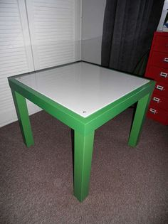IKEA hack tutorial- Light Table for Kids