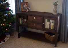 Ana White | Build a Rhyan Console Table | Free and Easy DIY Project and Furniture Plans