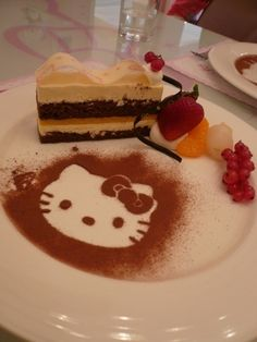 hello kitty on your cake!