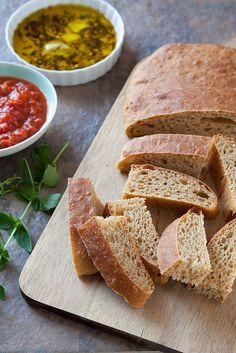 Whole Grain Ciabatta | Annie's Eats