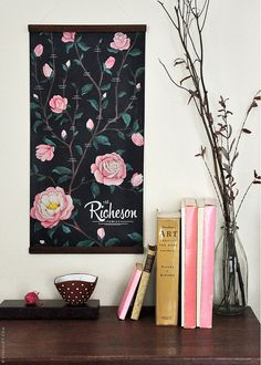 Blooms you can treasure for generations: a personalized rosebush family tree. #EtsyCustom