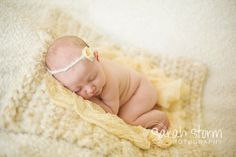 6 Ft Long  Corn Yellow Cheesecloth Newborn by CustomPhotoProps