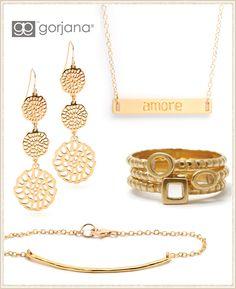 Introducing Gorjana: Classic Gold-plated Jewelry from @LaylaGrayce #laylagrayce #blog #jewelry