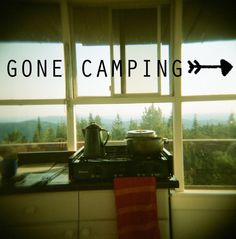 Gone camping. My plans for this summer. :)