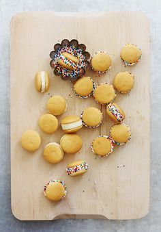Nilla wafers, bananas and sprinkles.. or maybe chocolate?