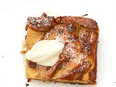 Apple-Chocolate Chip Bread Pudding Recipe : Food Network Kitchen : Food Network - FoodNetwork.com