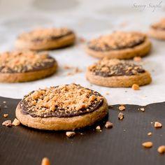 Butterfinger Shortbread Cookies