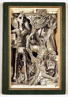books, brian dettmer, carv art, book art, book carv, art class, paper art, alter book, art scrap