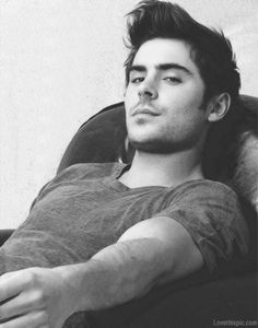 Zac Efron sexy photography black and white hot guys male celebs celebrities