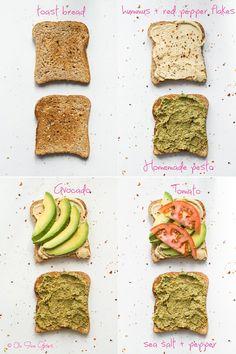 sandwich   Ultimate 4 Layer Vegan Sandwich