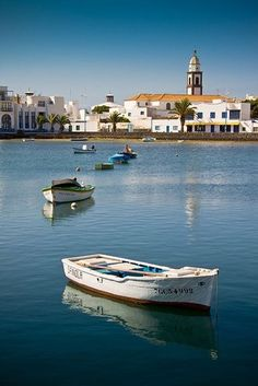Lanzarote, Canary Islands, Spain. My little city.