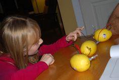 make a lemon battery