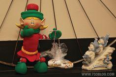 Our elf brought Mini Marshmallow Snowmen to the kids  Elf on the Shelf Ideas Easy Elf on the Shelf Poses