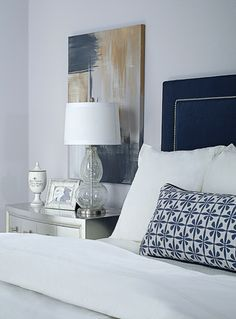 Low hung bedside arrangement