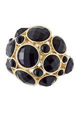 Carissa Onyx Gemstone Ring Fabulous for Fall 2014 www.ShopTheShoppingBag.com