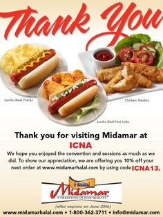 Thank You to all who visited us at ICNA!