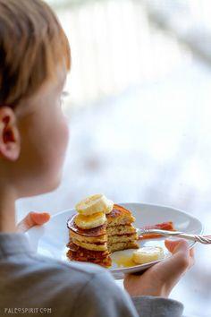 primal recipes, banana pancakes, paleo breakfast, food, bananas, paleo pancak, eat, banana paleo, paleo banana