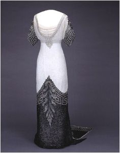 Evening dress by Worth for Queen Maud of Norway