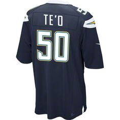 Manti Te'o 2013 Draft Jersey: Home Navy Game Replica #50 Nike San Diego Chargers Jersey