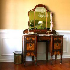 1930s Vanity Desk
