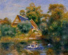 Mother Goose, 1898 - Renoir