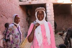 Zahara is a microcredit client from Morocco and uses her loans to support her weaving and livestock business. #WholePlanet #microfinance