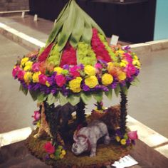 Floral design at Canada Blooms I love this