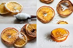 For the pantry: Tangerine Salt from Kitchen M
