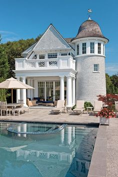 interior design, dream homes, beach houses, pool houses, lighthous