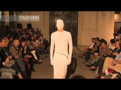 SANGUE NOVO OLGA NORONHA Lisboa Fashion Week 2014 Hd by Fashion Channel - YouTube