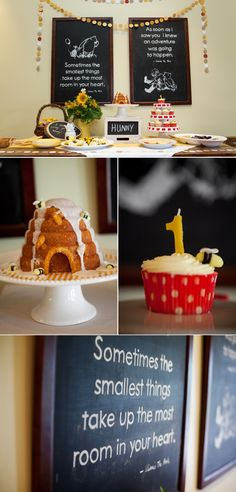 Classic Winnie The Pooh Birthday Party