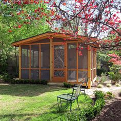 Outdoor Screened Rooms Design Ideas, Pictures, Remodel, and Decor