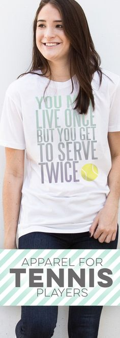 Apparel gifts tennis