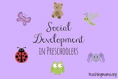 Social Development in Preschoolers.