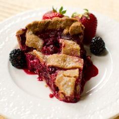 Sweet And Vibrant Vegan Blackberry Lime Pie