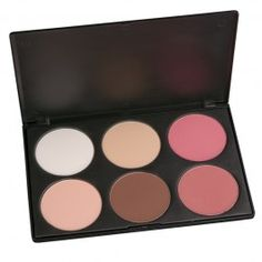 $19 Coastal Scents - 6 contour blush palette