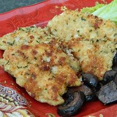"""Walnut-Tarragon Chicken Tenders   """"My family loved this recipe. I wouldn't change a thing. I never used the spice Tarragon but I loved it with chicken."""""""