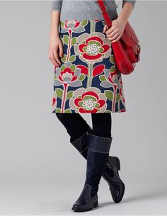 Boden Skirt. perfectly put together