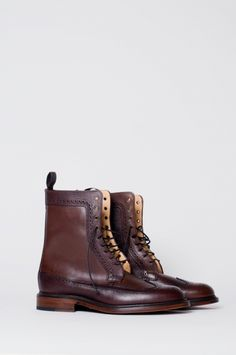 Mark McNairy for Engineered Garments / Long Wing Boot a/w 2010