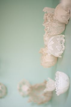DIY Doily Backdrop