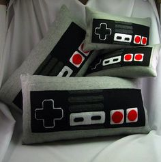 Game room pillows!!! OMG MUST HAVE!!!!!!