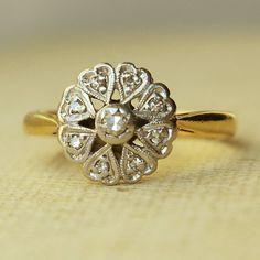 $315.00 Vintage engagement ring