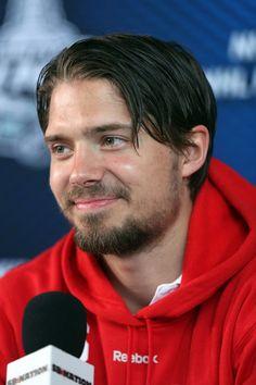 Jacob Josefson's playoff beard.