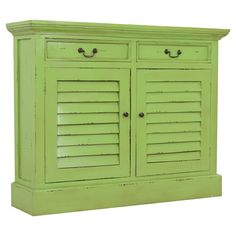 I am a fan of colorful furniture, so much more interesting!