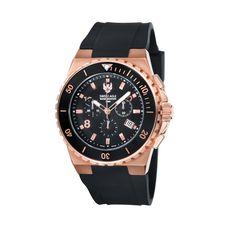 Rose Gold & Black Watch