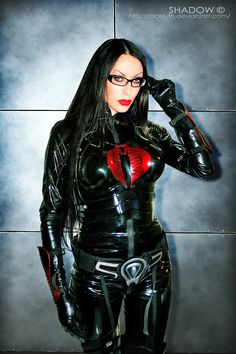 The Baroness from G.I. Joe cosplay by ~Daelyth on deviantART