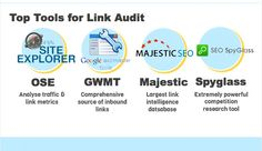 Tools link audit infographic