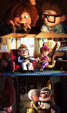 relationship, film, disney movies, school, dream, pixar movies, married life, kid movies, crazy eyes