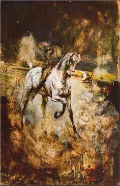 White Horse - Giovanni Boldini